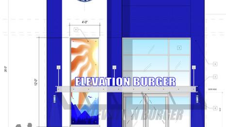 Elevation Burger Storefront