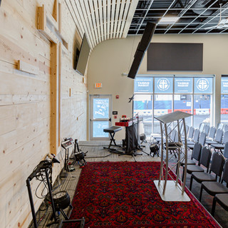 Waterfront Church DC - Interior renovation