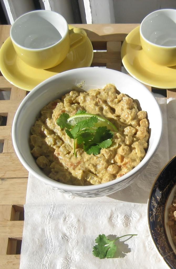 Recipe: Creamy Vegan Channa