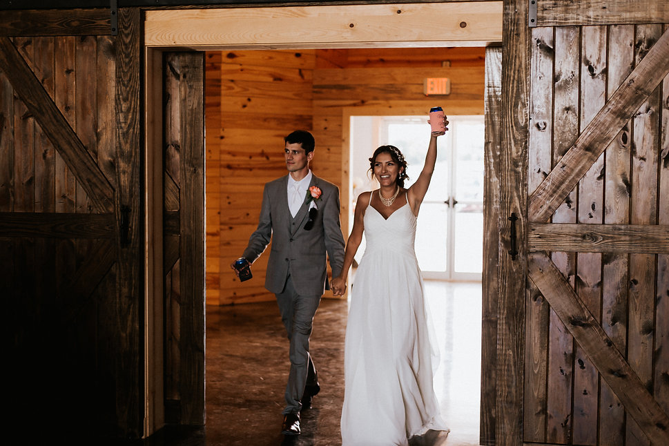 Grand Introduction at the Steel Barn Event Center
