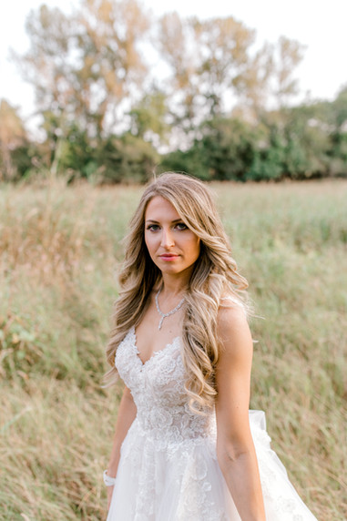 Bride at the Springs event venue