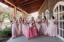 Bridal Party at the Sparrow Beginnings in Stillwater, Oklahoma.