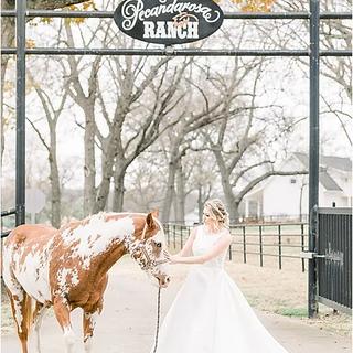 Bride at Pecandarosa Ranch