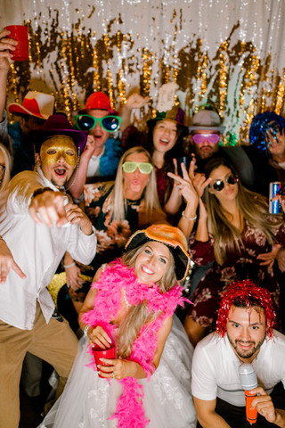 Weddings by Banks - Photo Booth Fun