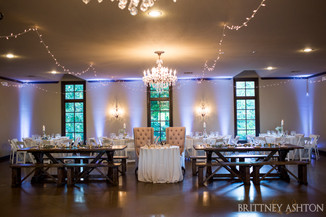 Wedding reception at vesica piscis chpael