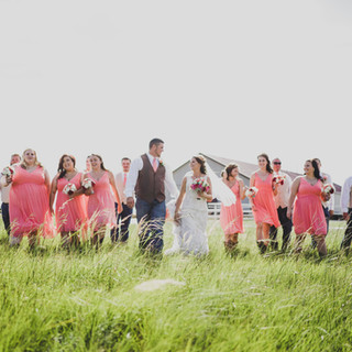 Wedding Party at Bellissima Ranch
