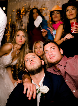 Banks Studios wedding photo booth fun