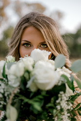Gorgeous bride at the Springs events in Edmond