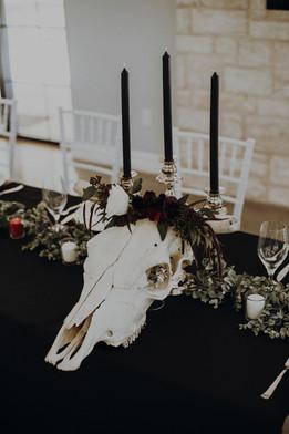 Tulsa wedding reception by Banks Studios