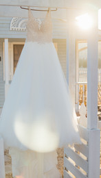Wedding Dress at the Ravington in Centerton
