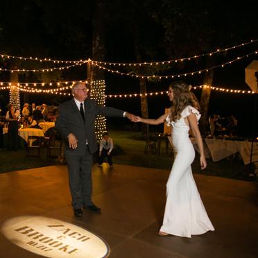First Dance with Banks Entertainment Wedding DJ