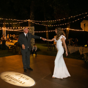 First Dance with Banks Entertainment Wedding DJ