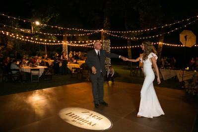 Tulsa outdoor wedding reception