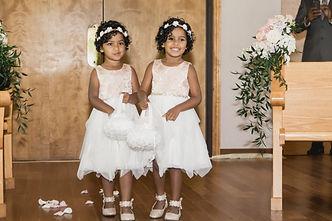 Flowergirls at Thunderbird Chapel