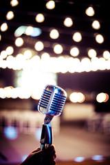 Wedding at Cains Ballroom lighting and DJ provided by Banks Entertainment Tulsa