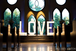 Wedding Love at Vesica Piscis Chapel
