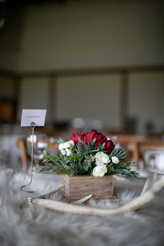 Wedding Reception at Tatanka Ranch