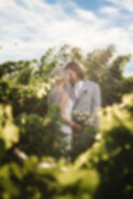 Bride and Groom at Tatanka Ranch