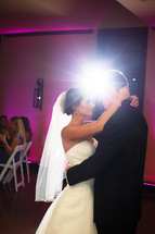 First dance at Vesica Piscis Chapel, dj provided by Banks Entertainment