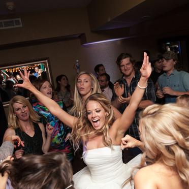 Bride Dances at Dresser Mansion