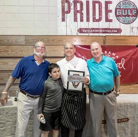 Chef Jeremy Downey - Bistro V (Birmingham) - Taste of the Bayou & Alabama Seafood Cook-Off Winner