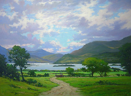 Lower Lake, Killarney (36X48) #4037.jpg