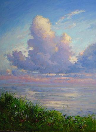 Evening Clouds, Sebastian (40X30) #3573.