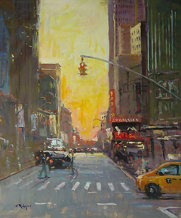 Summer Sundown, NYC-24X20.jpg