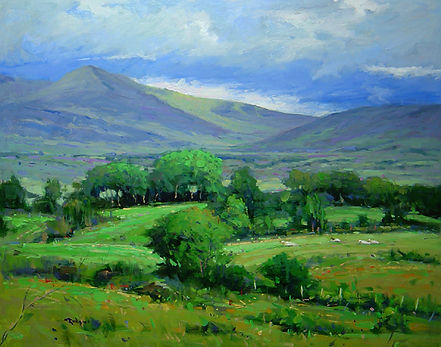 The Hills of Killarney (24X30) #3462.jpg