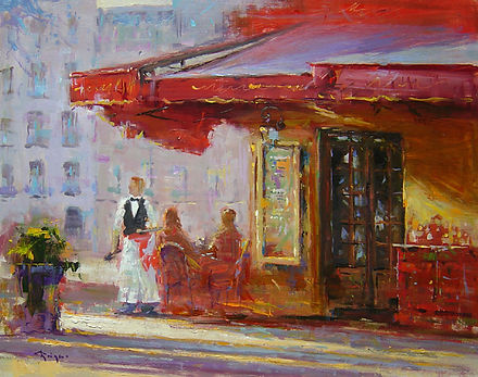 Parisian Cafe (16X20) #4021.jpg