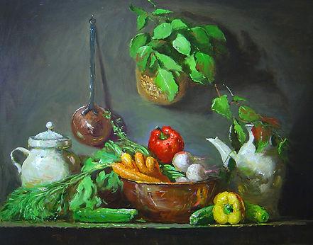 Copper & Vegetables (24X30).jpg