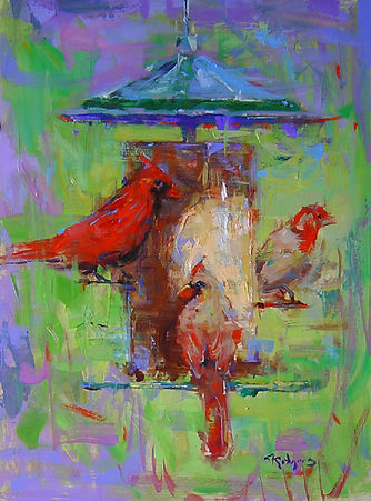 Cardinals at Feeder-16X12.jpg