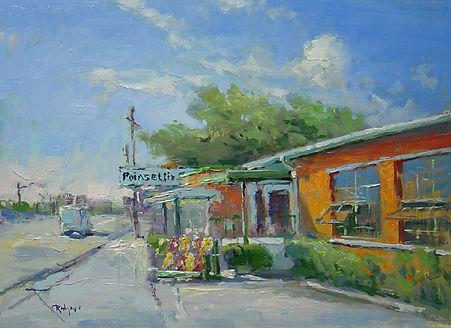 Poinsettia Groves, Vero Beach (12X16) #4