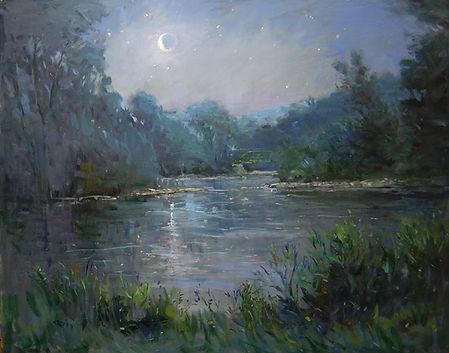Moonlight on the Brandywine-24X30.jpg