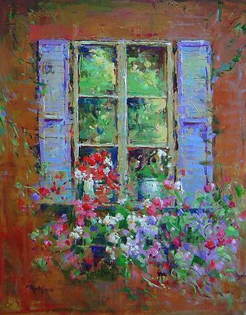 Flower Box in June-20X16.jpg