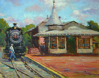 New Hope Station (16X20) #3248.jpg