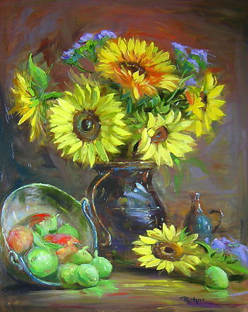 Late Summer Sunflowers (30X24).jpg