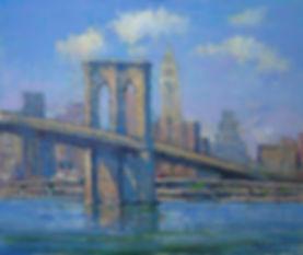 Brooklyn Bridge Blues-20X24- #3591 120.j