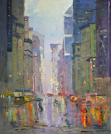 In a NY Groove-24X20.jpg