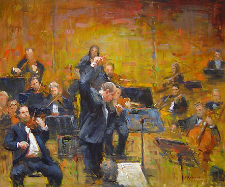 The Orchestra (20X24) #3569.jpg