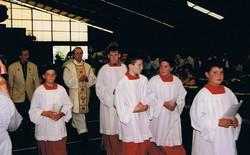 Einzug der Geistlichkeit