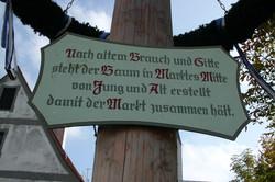 Maibaumspruch 2014