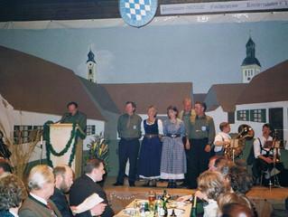 Patenbitten / Schirmherrschaftsbitten zur Fahnenweihe 1999