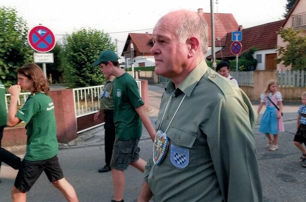 Paarfestumzug 2019 Ehrenmitglied Herbert