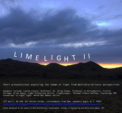 LIMELIGHT II - Multidisciplinary Perspectives on Light.