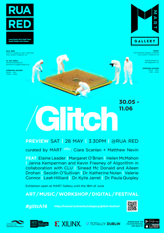 Glitch 2016 Rua Red