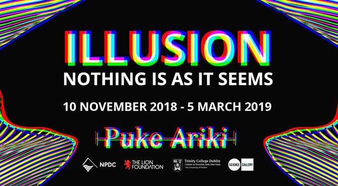 ILLUSION on Tour, Puke Ariki Museum, New Zealand.