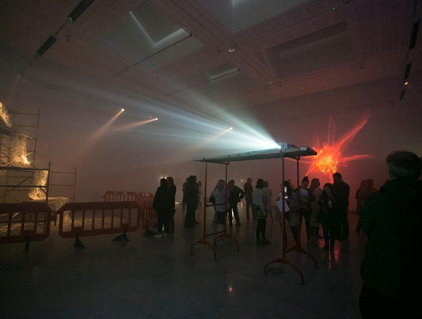 Glitch installation view
