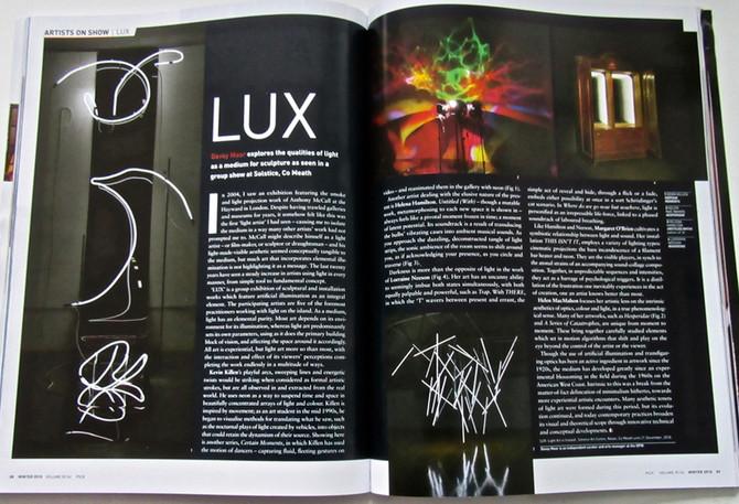 LUX Light Art in Ireland - Irish Arts Review