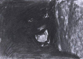 29.7x21cm, charcoal on paper